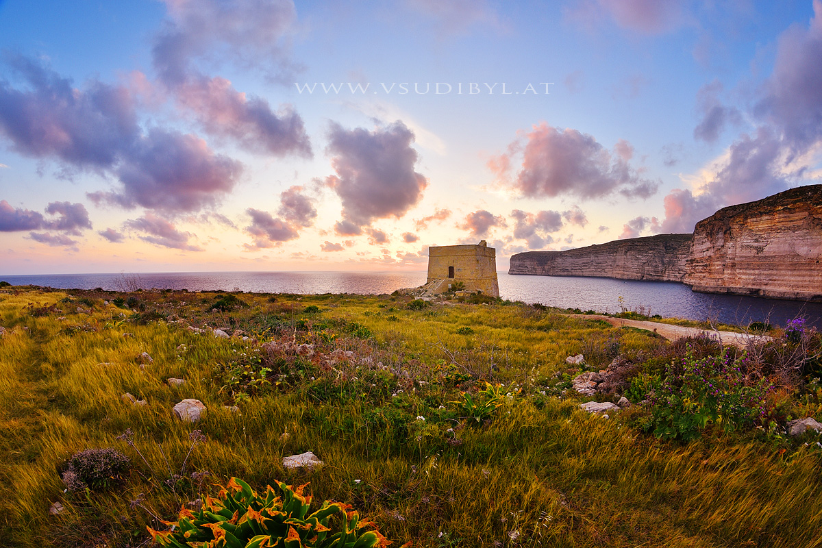 Gozo-Sundown-Tower-web