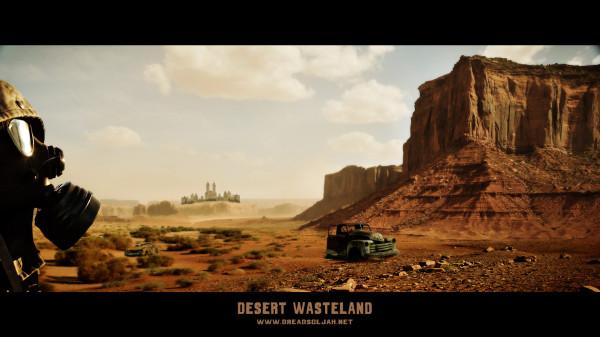Desert Wasteland 1920x1080
