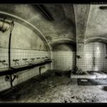Arbeiterhaus Sanitär-Raum