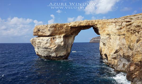 Azur-Fenster auf Gozo
