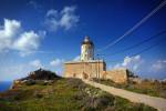 Verlassener Leuchtturm auf Gozo