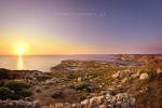 Sonnenuntergang auf Gozo