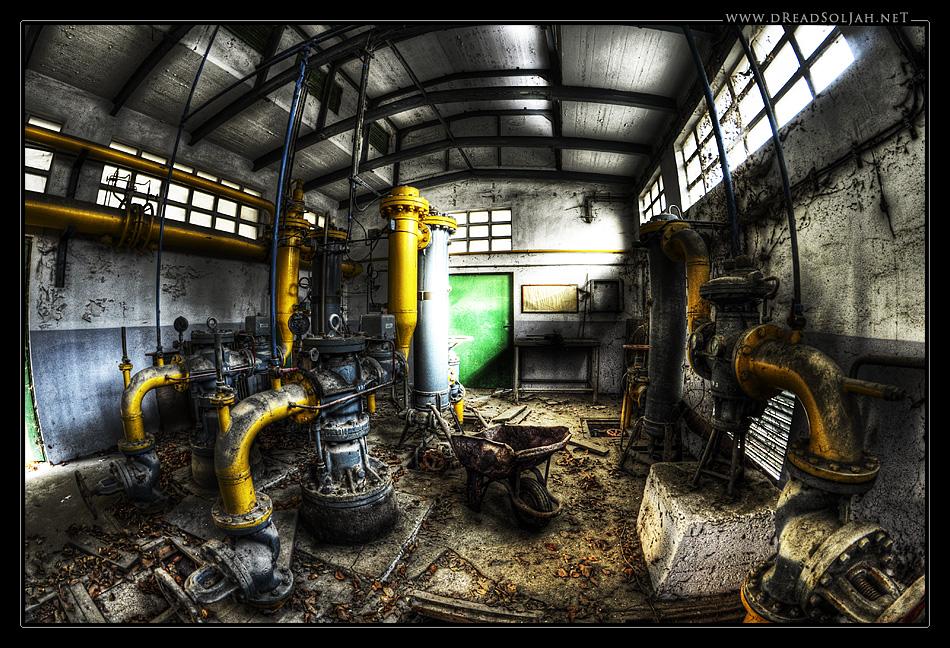 Der Pumpenraum